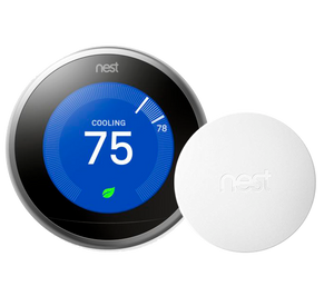Nest Pro Smart Thermostat w/ Professional Installation + 1 Remote Sensor (T2LP)