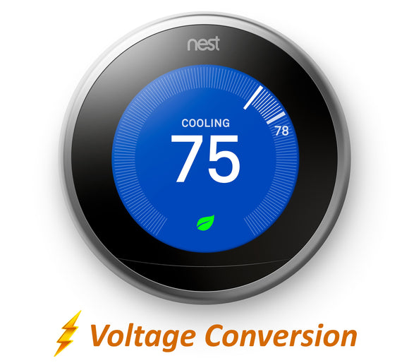 Nest Pro Smart Thermostat w/ Professional Installation + 3 Fan Speeds Included (T1W)