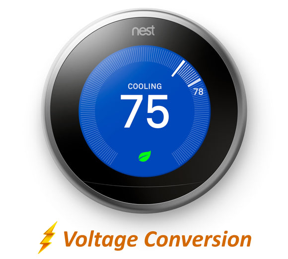 Nest Pro Smart Thermostat w/ Professional Installation + 3 Fan Speeds Included (T2)