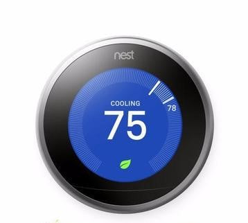 Nest Pro Smart Thermostat w/ Professional Installation + up to 3 Fan Speeds Included (T1L)