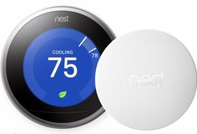 Nest Pro Smart Thermostat w/ Professional Installation + 1 Remote Sensor + up to 3 Fan Speeds Included (T1L)