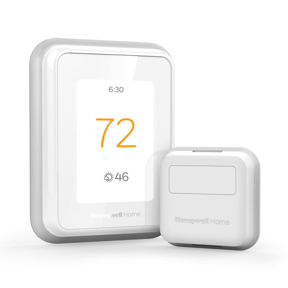 Honeywell Home T10 WIFI Smart Thermostat w/ Professional Installation + 1 Remote Sensor +Single Fan (T2LP)