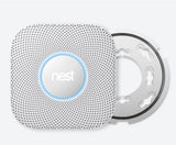 2 x Nest Protect, Smoke + C02 Alarm  ( Wired) - Pro Model (VD)