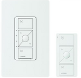 Lutron Caseta Wireless Smart Fan Speed Switch w/ Pico Remote + Installation