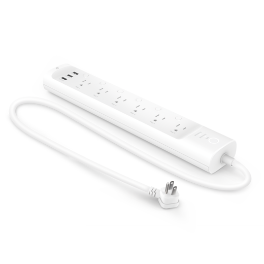 Kasa Smart Wi-Fi Power Strip + installation