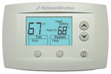 Pelican Commercial Smart Thermostat (TS200) + Installation