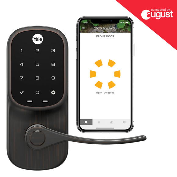 Yale Assure Lever Smart Lock w/ August Connect + Installation