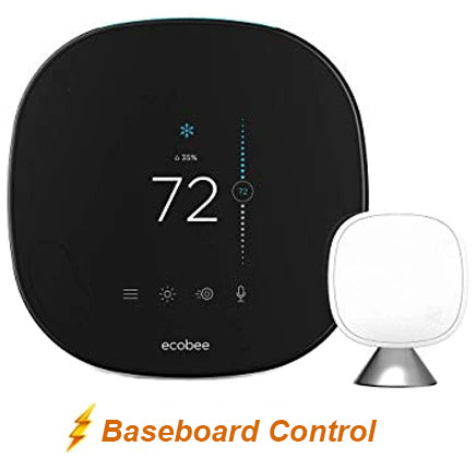 Ecobee5 Smart Thermostat w/ Professional Installation + Baseboard Control (BB)