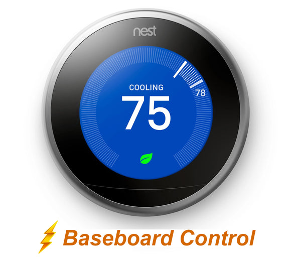 Nest Pro Smart Thermostat w/ Professional Installation for Baseboard Heating (BB)