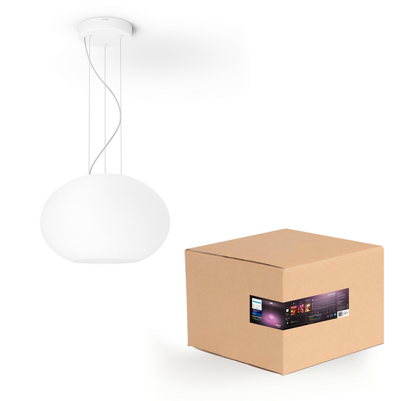 Philips Hue White and color Ambiance Flourish Pendant Light