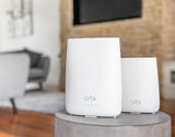 Orbi Whole Home WiFi System with Built-in Cable Modem+ Installation