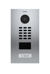 DoorBird Flush Mounted IP Video Door Station - 1, 2, 3, or 4 Call Buttons + Installation