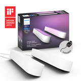 Philips Hue White and Color Ambiance Play Light Bar Double Pack