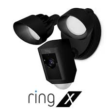 Ring X Floodlight HD Security Cam + Installation