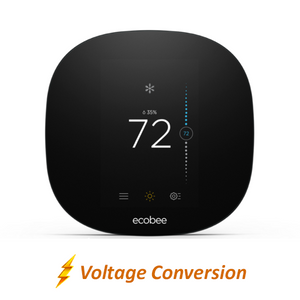 Ecobee3 Lite Smart Thermostat with Professional Installation (single fan speed only) (T4)