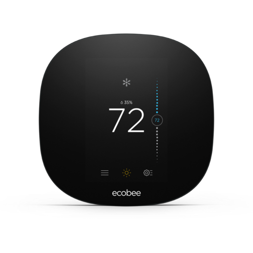 Ecobee3 Lite Smart Thermostat with Professional Installation (single fan speed only) (T1L)