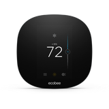 Ecobee3 Lite Smart Thermostat w/ Professional Installation + 1 Remote Sensor and Single Fan Speeds Included