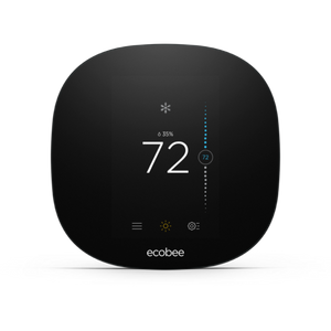 BYOD Ecobee3 Lite Smart Thermostat Professional Installation and Single Fan Speeds Included (T1LP)