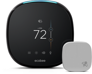 BYOD Ecobee4 Smart Thermostat Professional Installation + 1 Fan Speed Included (T1LP)