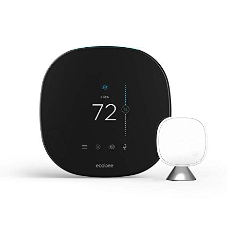 Ecobee5 Smart Thermostat w/ Professional Installation + 1 Remote Sensor + 1 Fan Speed Included (T2LP)