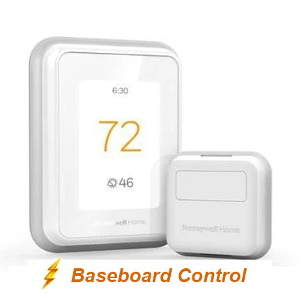 Honeywell Home T10 WIFI Smart Thermostat w/ Professional Installation + 1 Remote Sensor + Baseboard Control  (BB)