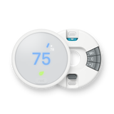 Nest Thermostat E with Professional Installation (single fan speed only) (T1W)