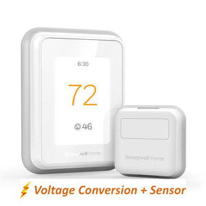 Honeywell Home T10 WIFI Smart Thermostat w/ Professional Installation + 1 Remote Sensor + Dual Fan Speed Included (T3P-HFC)