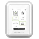 Honeywell Home T10 WIFI Smart Thermostat w/ Professional Installation + 1 Remote Sensor + SIngle Speed Included (T2)