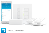 Smart Lighting Dimmer Switch (2 count) Starter Kit + Installation