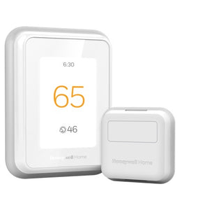 Honeywell Home WIFI Smart Thermostat w/ Professional Installation + 1 Remote Sensor + Dual Fan Speeds Included (T3)