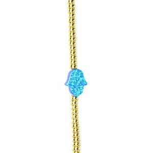 AVIVA gold/blue - adammarcjewels