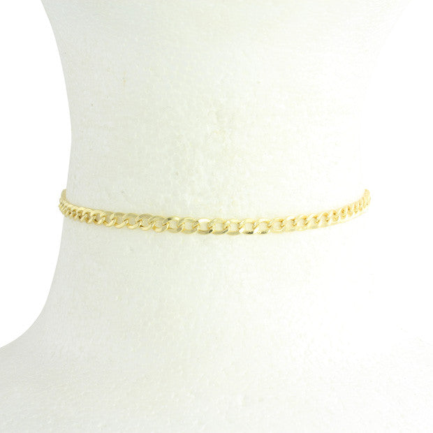 MINI CUBAN LINK CHOKER