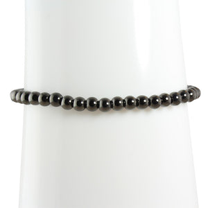 BLACK BALL BRACELET - adammarcjewels