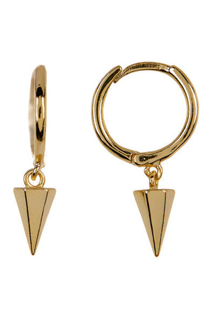 gold spike on hoop
