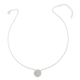 clsasic disc necklace