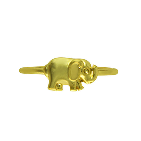 THE MINI ELEPHANT RING in gold
