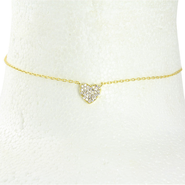 MINI HEART chain choker