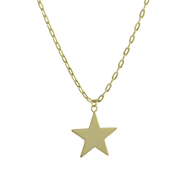 gold star neckalce
