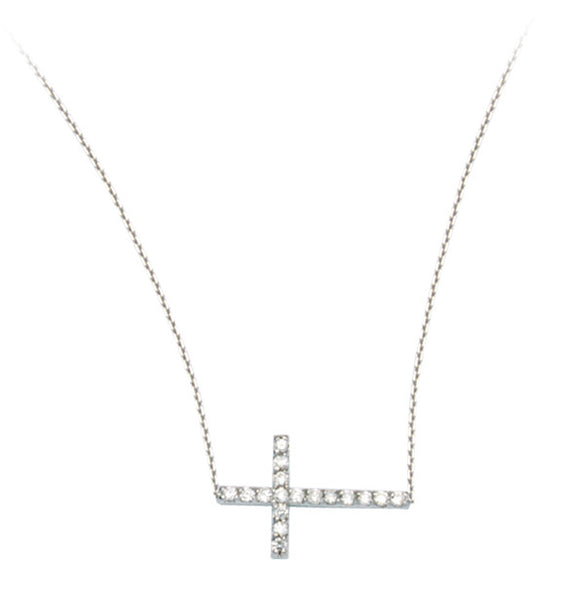 DIAMOND SIDEWAYS CROSS