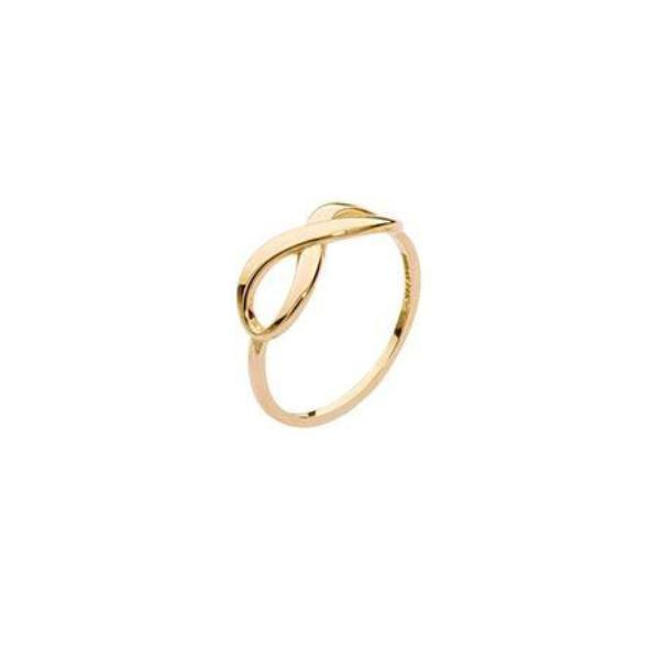 GOLD INFINITY RING - adammarcjewels