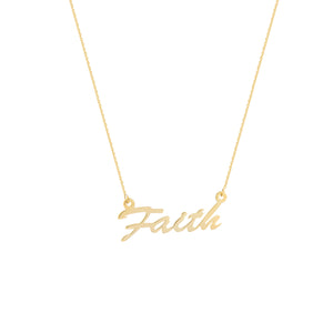 FAITH - adammarcjewels