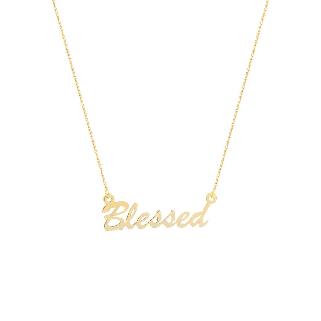 BLESSED - adammarcjewels