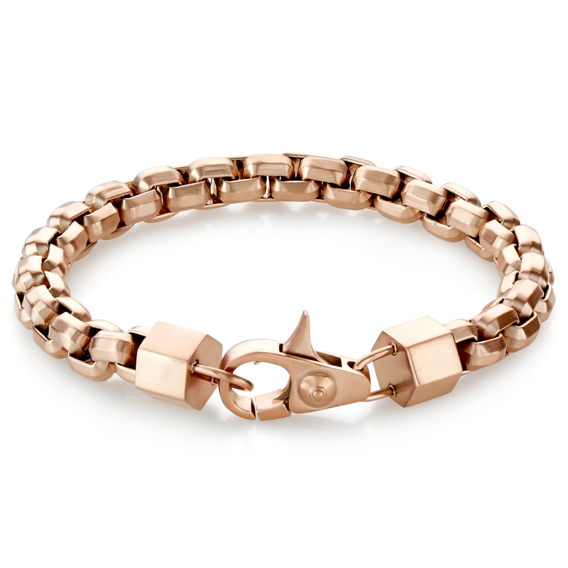 MEN'S LINK LOBSTER LOCK BRACELET