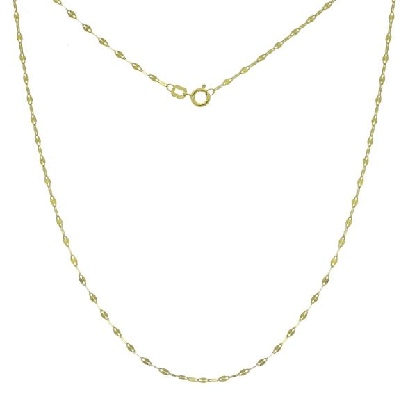 HAMMERED CHAIN 14K - adammarcjewels