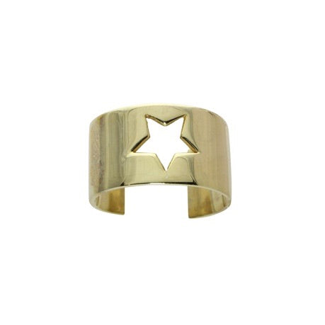 CUT OUT STAR RING