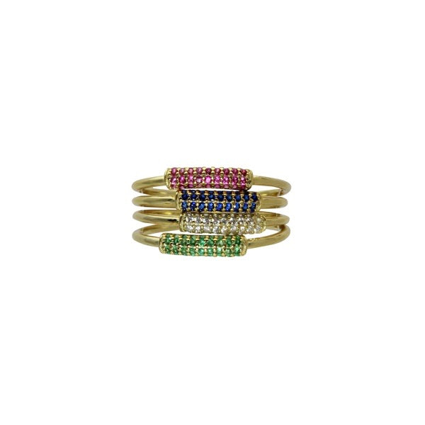 COLOR MIDDLE STACK RING