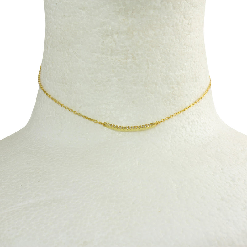 MINI CURVED BAR CHOKER
