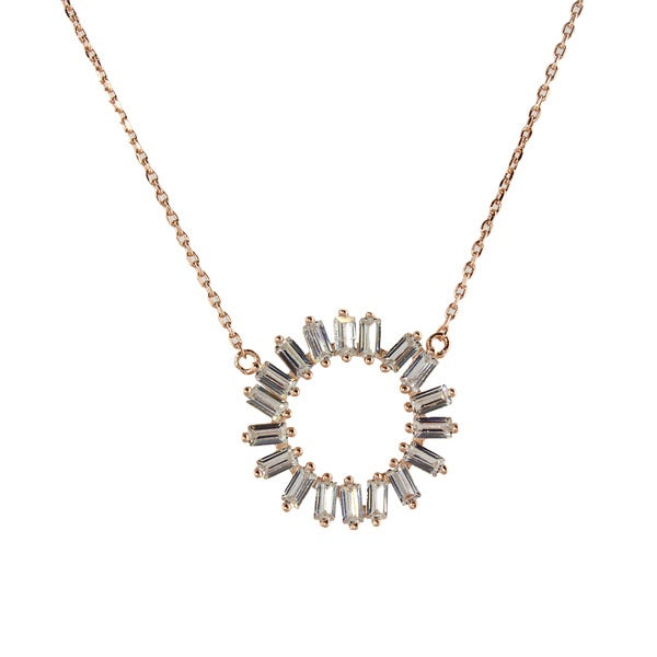 JAGGED BAGUETTE CIRCLE - adammarcjewels