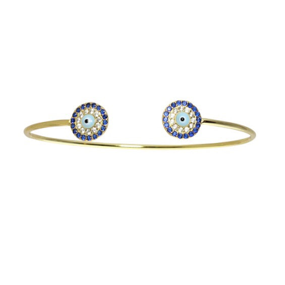 EVIL EYE BANGLE - adammarcjewels