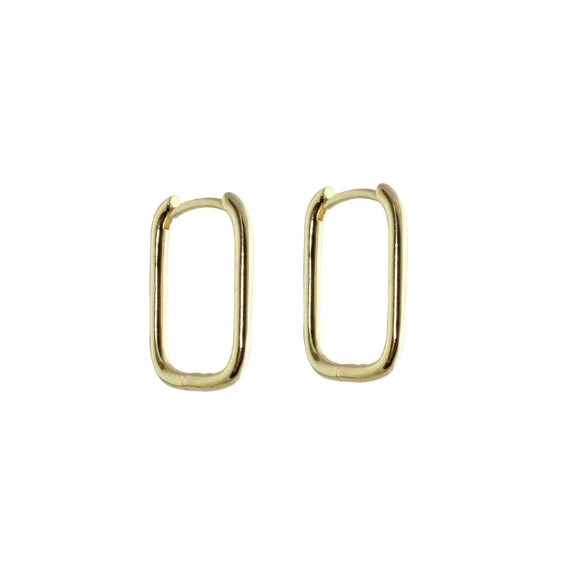 SMALL PAPERCLIP EARRINGS